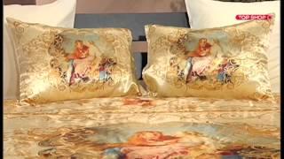 видео Постельное белье Arya Peony (евро)