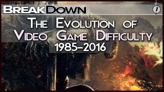Breakdown: The Evolution of Video Game Difficulty