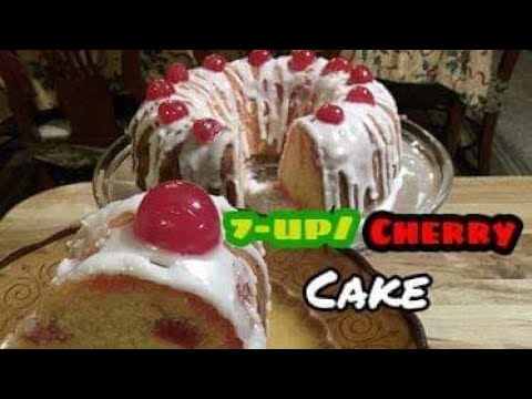 How To Make 7up Pound Cake With Cherries