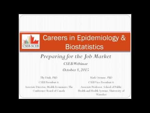 Careers in Epidemiology and Biostatistics