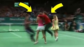 Tennis Craziest Court Invaders : Naked Sneakers , Kissing Players and More...