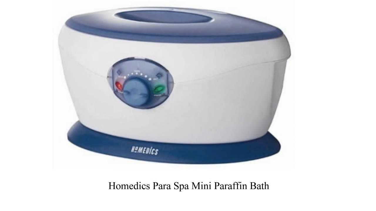 homedics paraffin wax machine