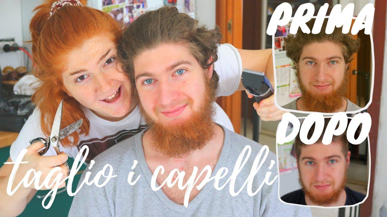 TAGLIO I CAPELLI AL MIO FIDANZATO | vlog 21-22 marzo 2020 ...