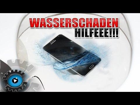 Handy ins Klo gefallen – was tun? Wasserschaden am Smartphone reparieren [Deutsch/German]