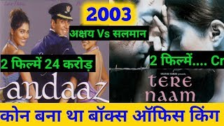 Akshay kumar And Salman Khan Comparison in 2003, Who is the king of Bollywood