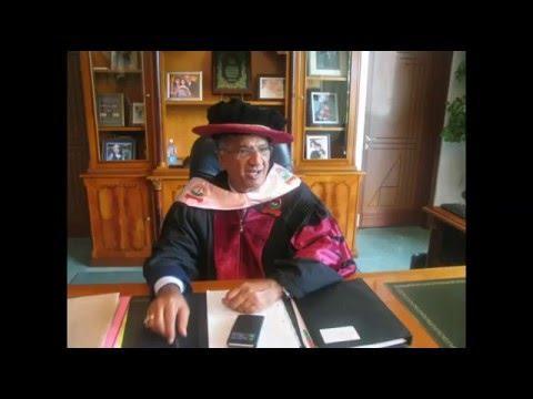 Naushad Merali -  Kabarak University Honorary Degree