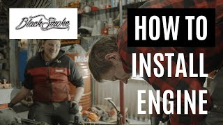 How to fit the engine | 43-2020