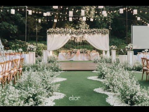 Intimate Wedding Decor Inspiration Of Raymond Michelle By Elior Design Youtube