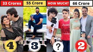 Who is No.1 Vlogger In India | TOP 10 Vloggers Of India | Sourav Joshi Vlogs   Technical Guruji |MSK
