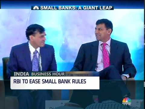 INDIA BUSINESS HOUR: RBI TO EASE SMALL BANK RULES
