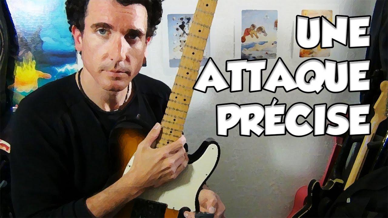 UNE ATTAQUE PRÉCISE - LE GUITAR VLOG 335