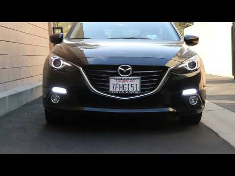 Switchback 22-LED Daytime Running Lights Turn Signal Lamps For 2014-up Mazda3 Axela