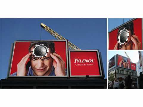 Creative Outdoor Billboards - Billboard Advertising Ideas
