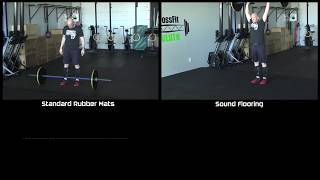 Sound Reducing Gym Flooring