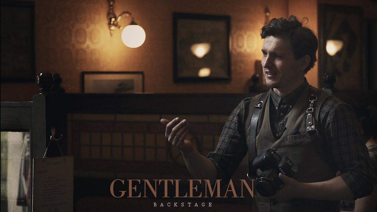 """Gentleman"" Backstage"