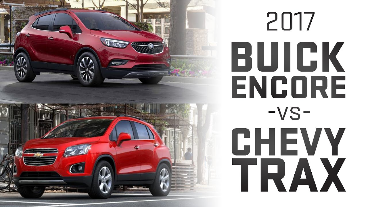 Buick Encore vs Chevy Trax Comparision - YouTube