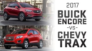 2017 Buick Encore vs Chevy Trax Comparision
