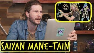 Super Saiyan Mane-taining! | Because Science Footnotes