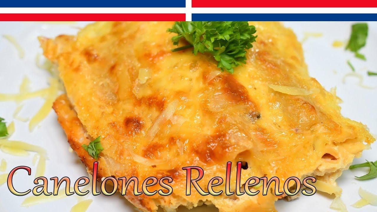 Download Cómo hacer canelones rellenos con salsa de queso - Cocinando con Yolanda