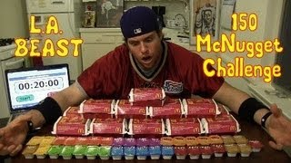L.a. Beast Vs 150 Mcdonalds Chicken Mcnuggets