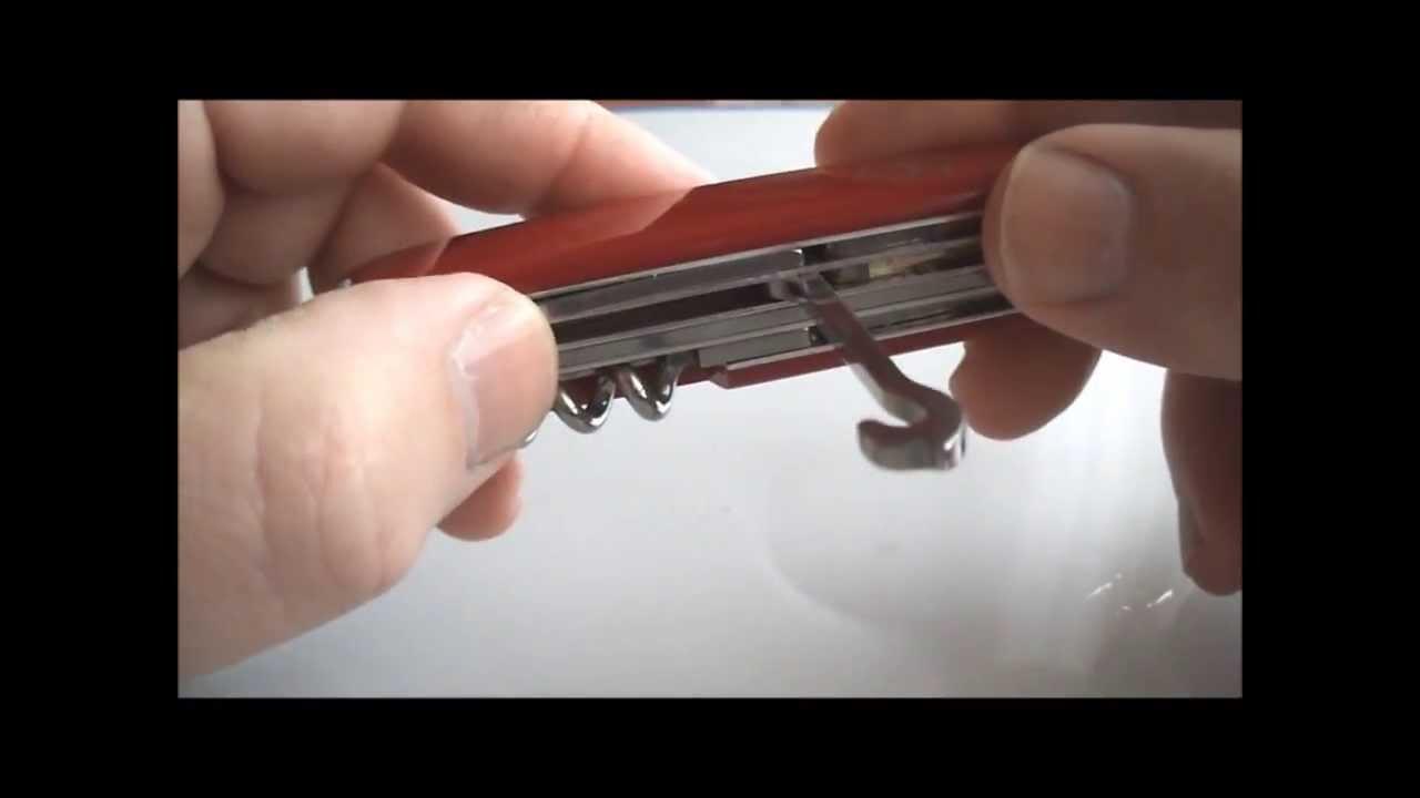 Victorinox Multipurpose Hook Uses Usos Del Gancho