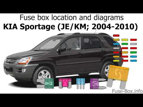 Fuse box location and diagrams: KIA Sportage (JE/KM; 2004 ... Kia Sportage Fuse Box Diagram on 2010 dodge ram 1500 fuse box diagram, 2010 jeep grand cherokee fuse box diagram, 2010 dodge ram 2500 fuse box diagram, 2010 dodge ram 3500 fuse box diagram, 2010 land rover lr2 fuse box diagram, 2010 jeep wrangler fuse box diagram, 2010 ford e150 fuse box diagram,