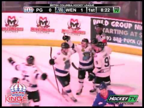 Prince George Spruce Kings Game 2 Highlights vs Wenatchee Wild