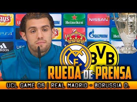 Real Madrid - Borussia Dortmund Rueda de prensa de KOVACIC Champions (05/12/2017)