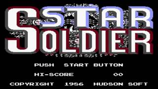 Star Soldier - NES - Full Playthrough - Warpless - Deathless