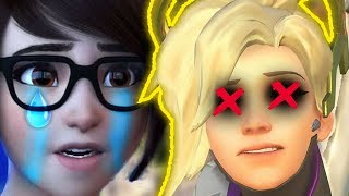WTF! She Killed Mercy On ACCIDENT?!? - Overwatch Funny Moments & Best Plays 7