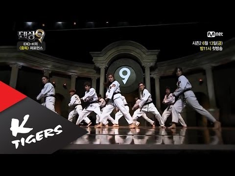 Mnet Dancing9 K-Tigers full ver