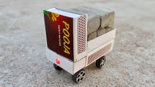 How to make a matchbox mini Dump Truck - माचिस का डंप ट्रक