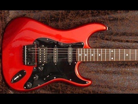 vintage guitar club epiphone stratocaster s300 de 1982 youtube. Black Bedroom Furniture Sets. Home Design Ideas