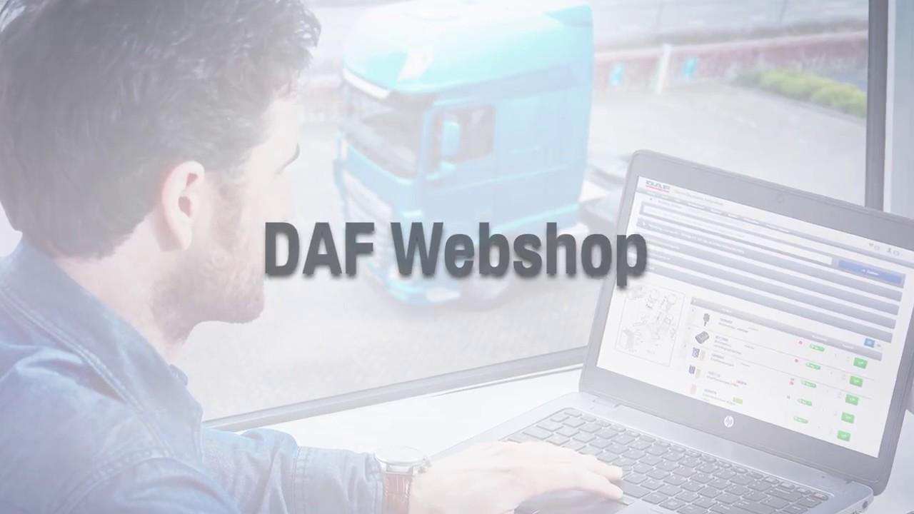 DAF Webshop Promo Video | Tổng quát các kiến thức liên quan đến webshopping.cc chính xác nhất