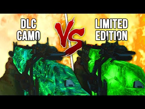 WHICH ZOMBIES CAMO DID IT BEST!? LIMITED EDITION Camo Vs NEW DLC CAMO!