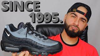 CLASSICS NEVER DIE. Nike AIR MAX 95 ESSENTIAL SMOKE GREY On Foot ...