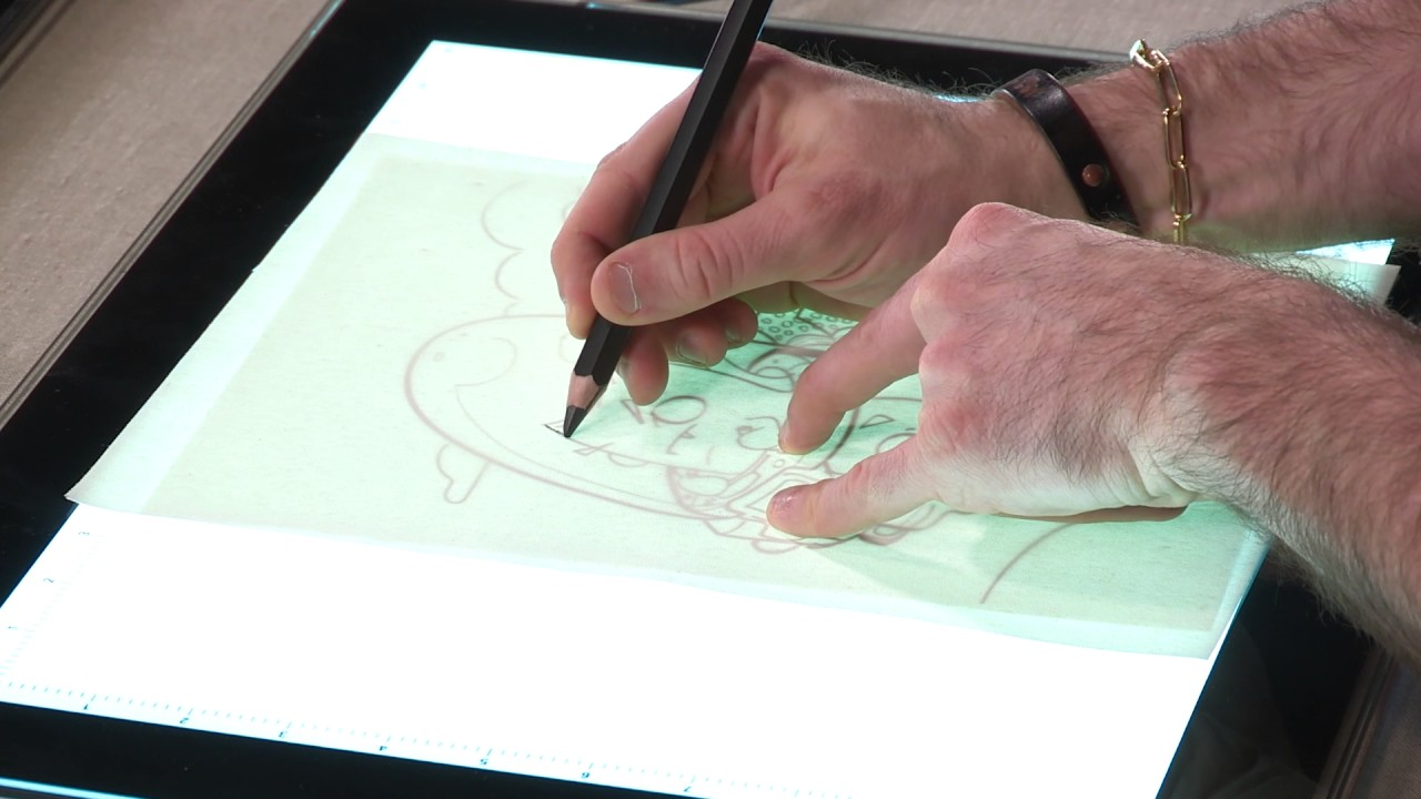 Acurit Led Light Tablets Drawing Tracing Artist Tablet Youtube