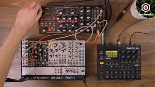 Moog Subharmonicon, Digitakt, and Mimeophon jam at Patchwerks!