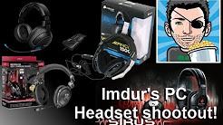 Imdur's PC Headset Shootout! (Includes Mic Tests)