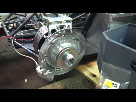SAE FHybrid Illinois Tech 2011 hub motor first run
