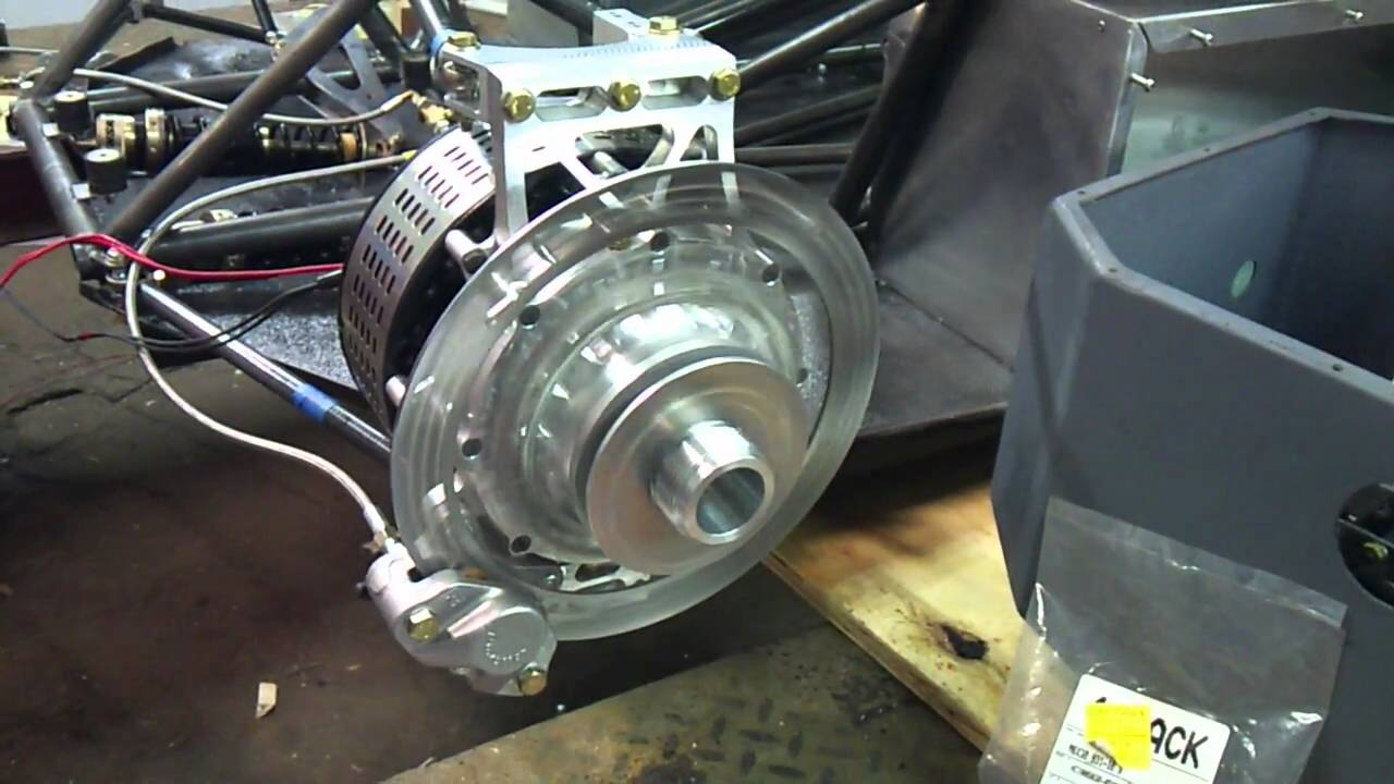 Sae Fhybrid Illinois Tech 2011 Hub Motor First Run Youtube