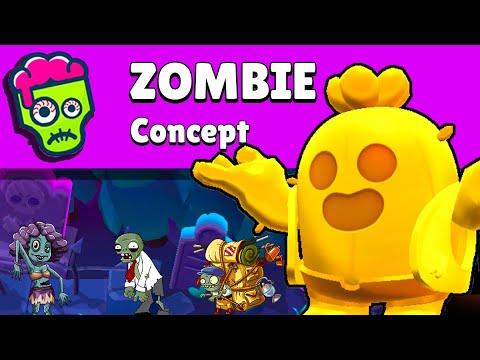 c'est PARTIE EN SUCETTE 🍭 ce concept MODE ZOMBIE ! (brawl stars)