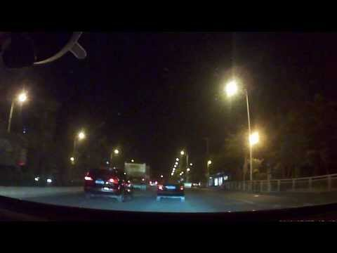 S208 Car camera DVR + GPS, night version, Shenzhen, China, Real video without modification