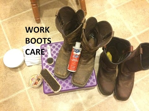 Work Boots Care