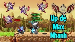 Ngọc Rồng Online - Cách Tớ Up Đệ Tử Cực Nhanh :)
