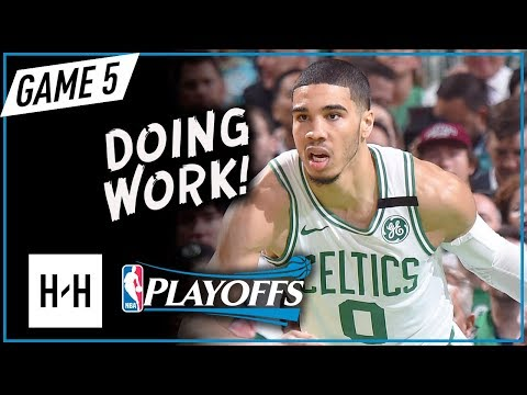 Jayson Tatum Full Game 5 Highlights Vs Cavaliers 2018 Playoffs ECF - 24 Points, SICK!