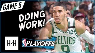 Jayson Tatum Full Game 5 Highlights vs Cavaliers 2018 Playoffs ECF - 24 Points, SICK! thumbnail