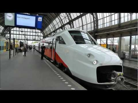 Brussels to Amsterdam by FYRA train...