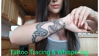 ASMR- Tattoo Tracing!