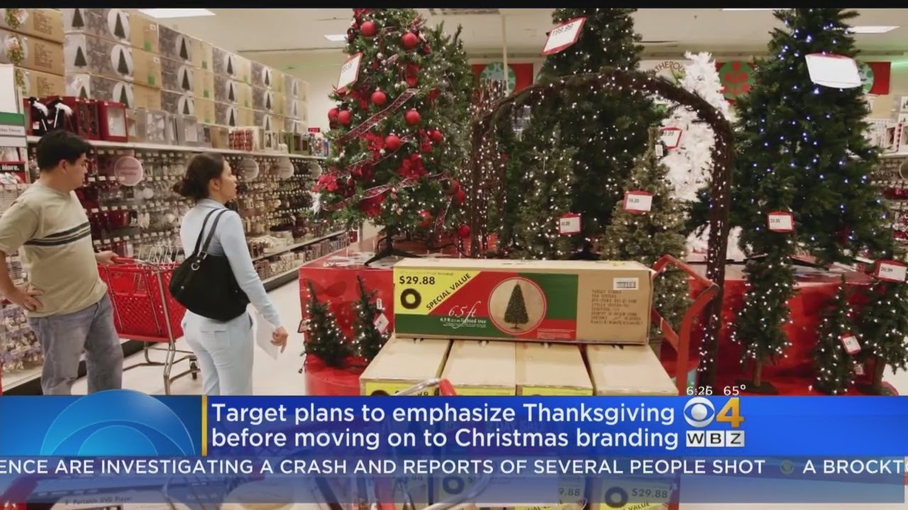 Target To Emphasize Thanksgiving Before Moving On To Christmas ...